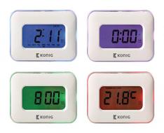 Multifunctionele alarmklok met touch sensor